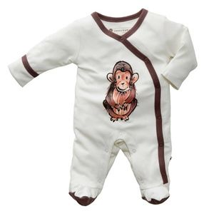 Baby Soy Janey Baby Footie - Chimp